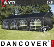 Tenda Eventos UNICO 5x8m, Preto