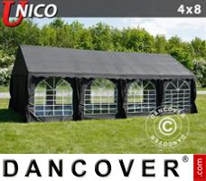 Tenda Eventos UNICO 4x8m, Preto