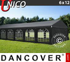 Tenda Eventos UNICO 6x12m, Preto