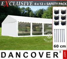 Tenda Eventos Exclusive 6x12m PVC, Branco, Panorama