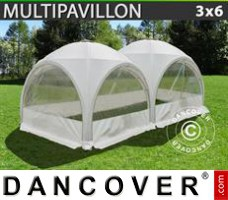 Tenda Eventos Multipavillon 3x6m, Branca
