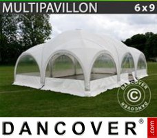 Tenda Eventos Multipavillon 6x9m, Branca
