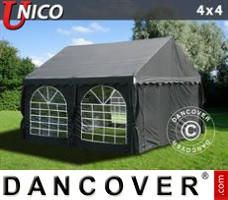 Tenda Eventos UNICO 4x4m, Preto