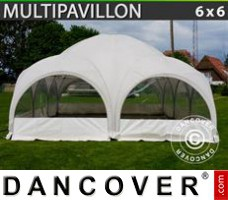 Tenda Eventos Multipavillon 6x6m, Branca