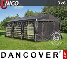 Tenda Eventos UNICO 3x6m, Preto