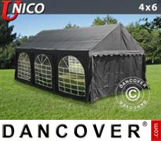 Tenda Eventos UNICO 4x6m, Preto