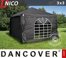 Tenda Eventos UNICO 3x3m, Preto