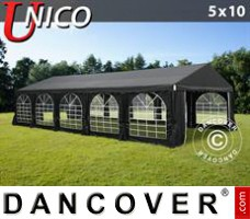 Tenda Eventos UNICO 5x10m, Preto